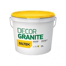"""Штукатурка декоративна Siltek Decor Granite """"граніт натуральний"""" (зерно 1,5 - 2,5 мм), колір """"сірий"""""""